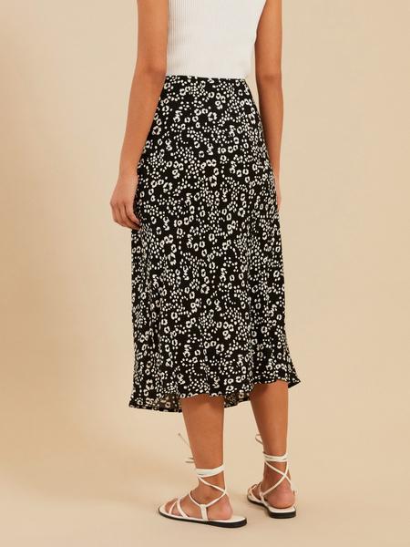 Струящаяся юбка-миди - фото 4