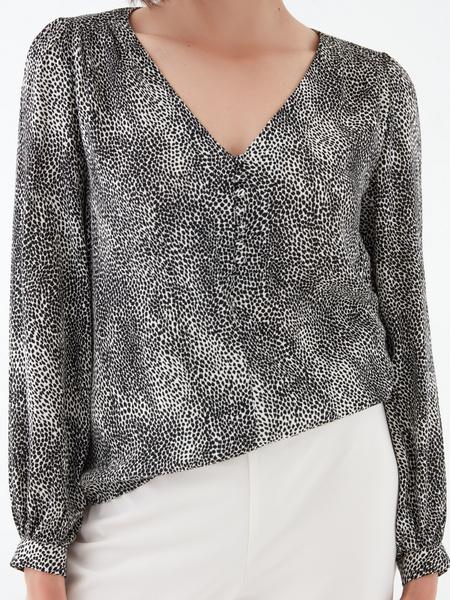 Блузка с длинным рукавом - фото 3