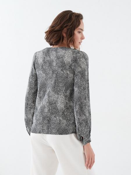 Блузка с длинным рукавом - фото 4
