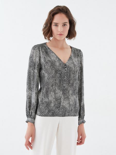 Блузка с длинным рукавом - фото 5