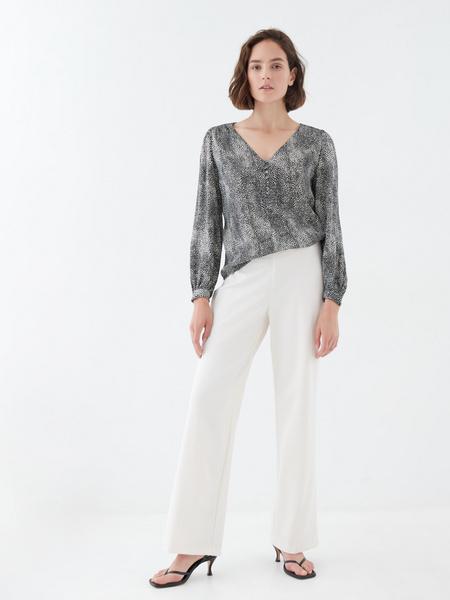 Блузка с длинным рукавом - фото 6