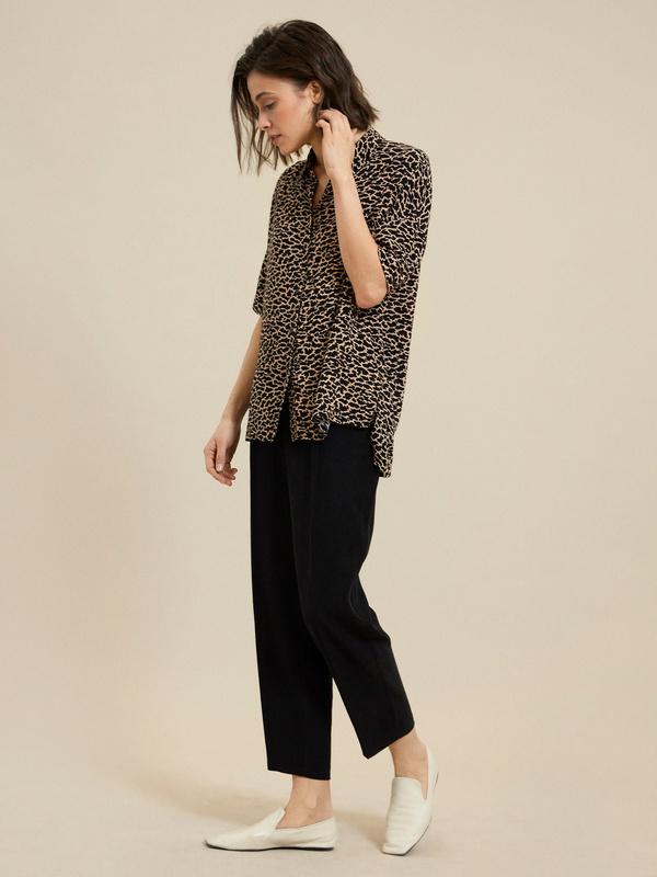 Рубашка с коротким рукавом - фото 6