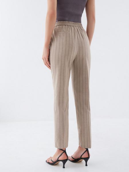 Прямые брюки со стрелками - фото 5