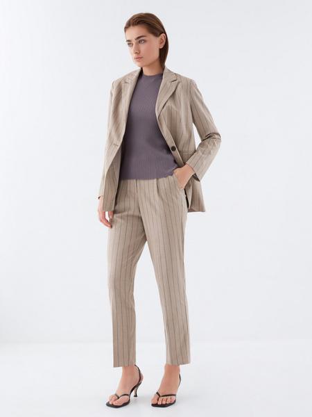 Прямые брюки со стрелками - фото 7