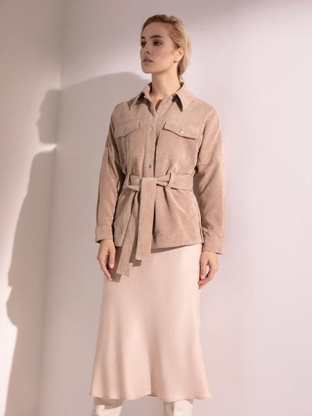 Расклешенная юбка-миди - фото 7