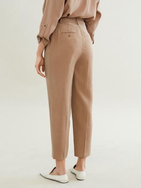Прямые брюки с карманами - фото 4