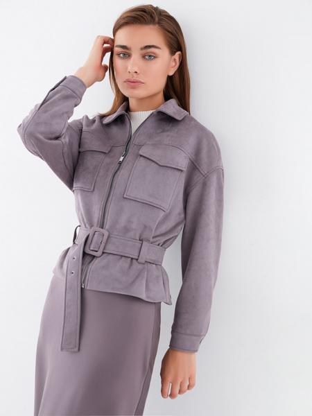 Куртка на поясе