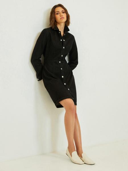Платье-рубашка - фото 6
