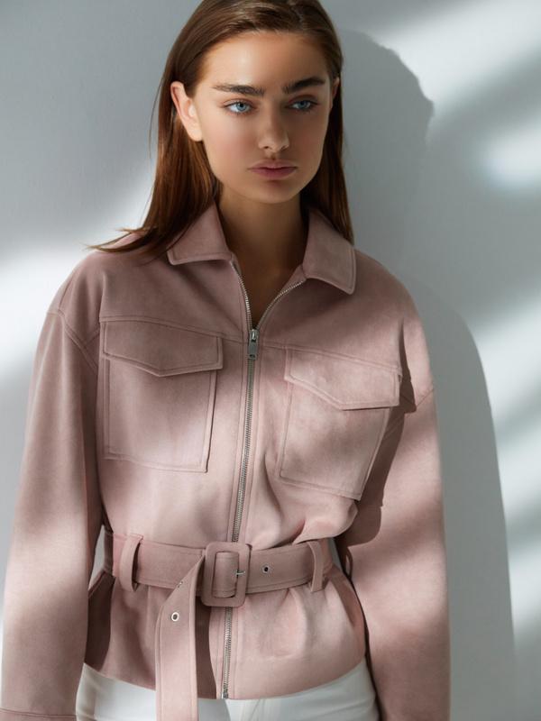 Куртка на поясе - фото 6