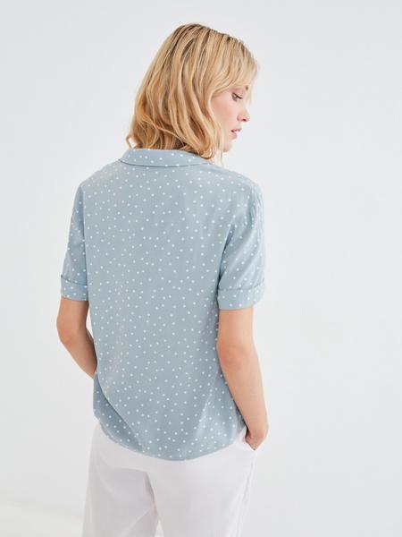 Летняя блузка - фото 4