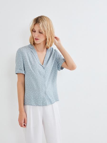 Летняя блузка - фото 5