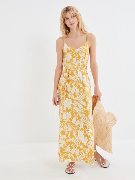 Длинное платье с разрезом - фото 2
