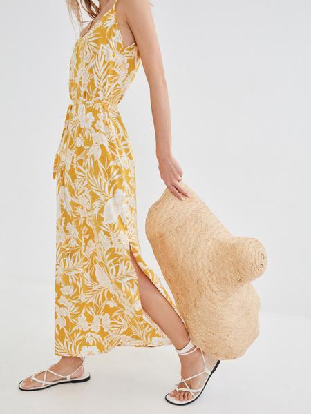Длинное платье с разрезом - фото 4