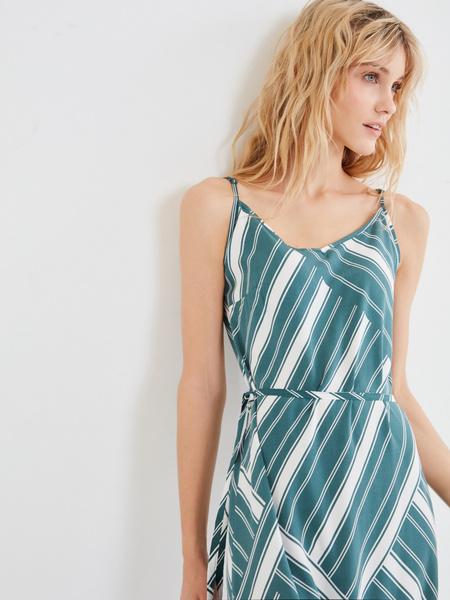 Длинное платье с разрезом - фото 3