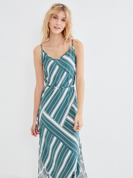 Длинное платье с разрезом - фото 7