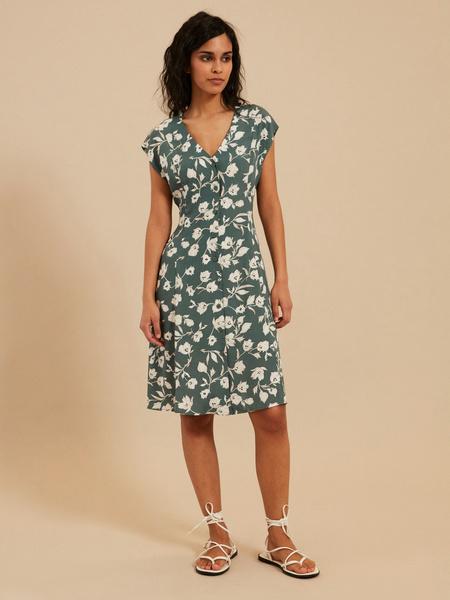 Платье с принтом - фото 4
