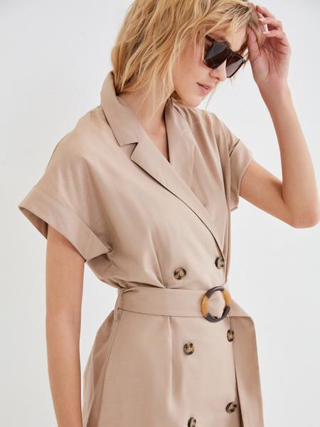 Платье-рубашка - фото 3