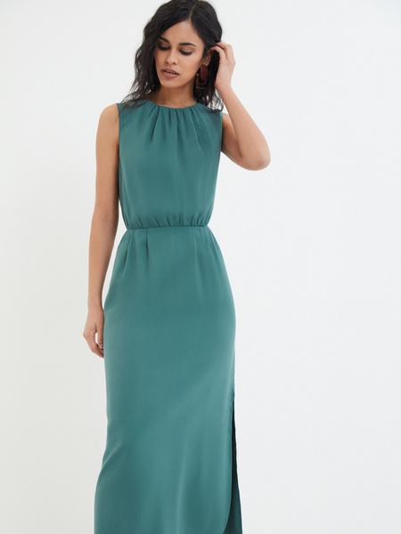 Платье со сборками - фото 2