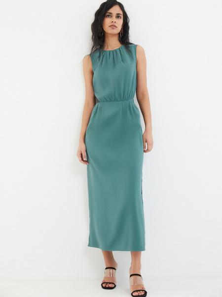 Платье со сборками - фото 6