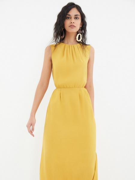Платье со сборками - фото 8
