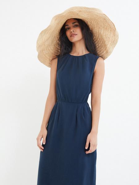 Платье со сборками - фото 7