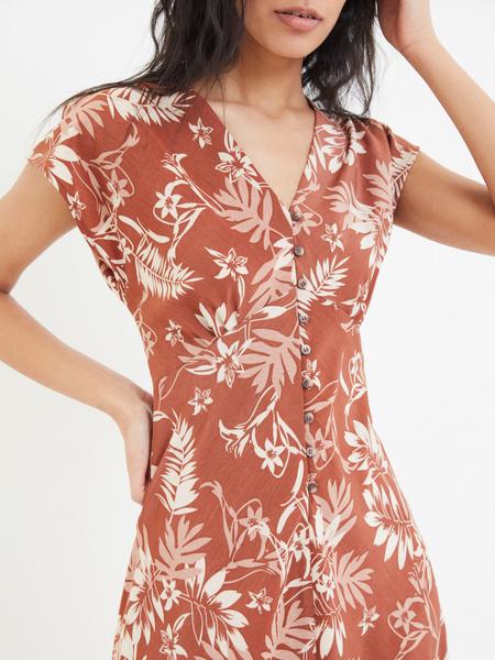 Платье на пуговицах - фото 3