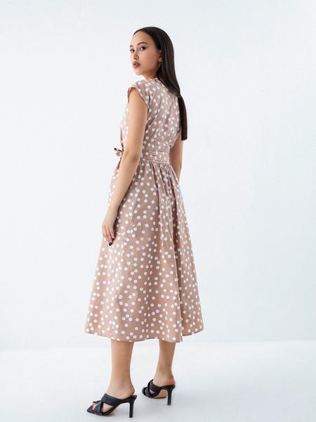Платье из 100% хлопка с карманами - фото 6