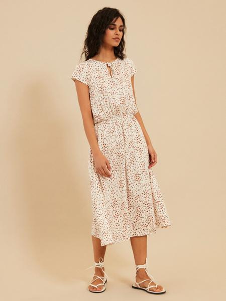 Платье с завязкой по горловине - фото 2