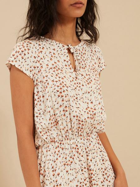 Платье с завязкой по горловине - фото 4