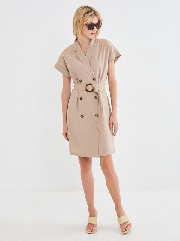 Платье-рубашка - фото 2
