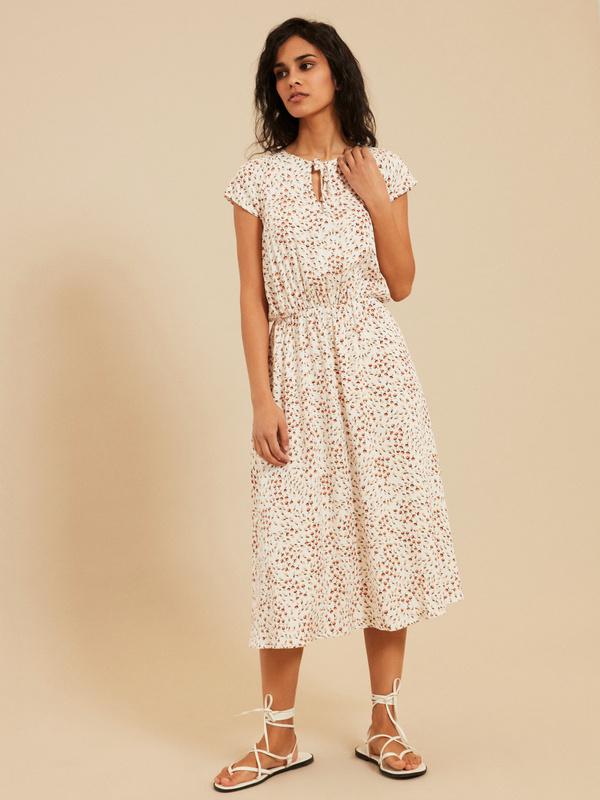 Платье с завязкой по горловине - фото 1