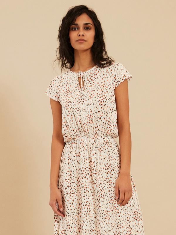 Платье с завязкой по горловине - фото 3