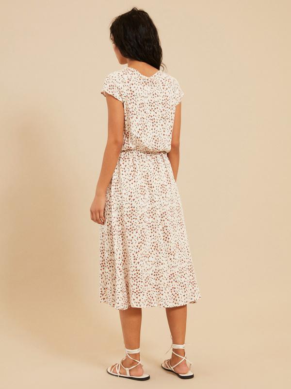 Платье с завязкой по горловине - фото 6