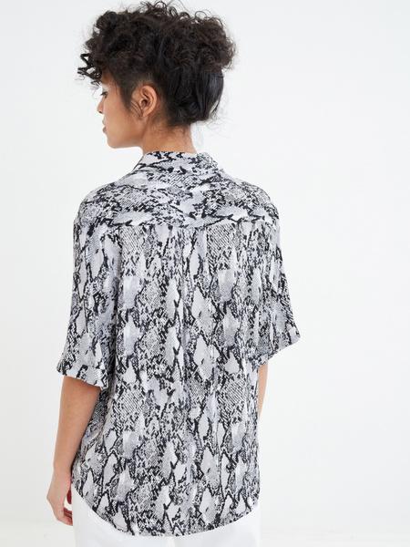 Блузка с коротким рукавом - фото 5