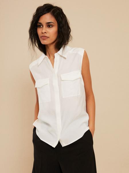 Блузка с открытыми плечами - фото 1
