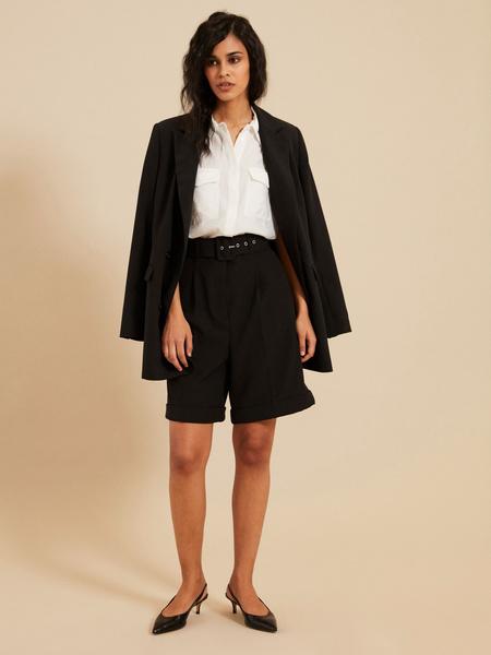 Блузка с открытыми плечами - фото 5