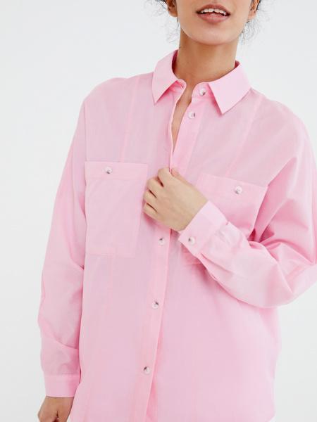 Блузка с карманами - фото 2