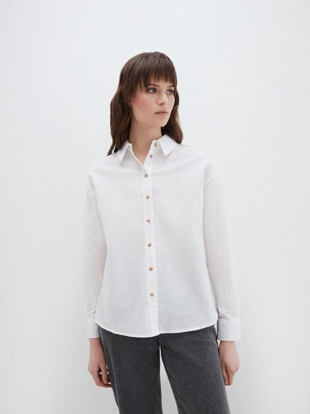 Блузка изо льна - фото 3