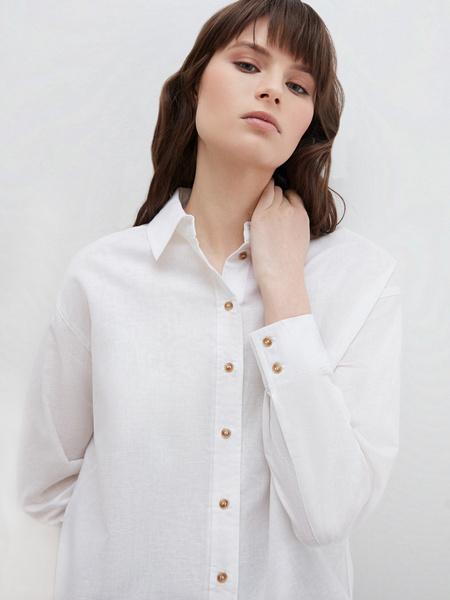Блузка из льна - фото 4