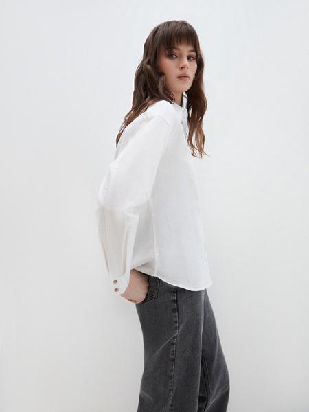 Блузка из льна - фото 5