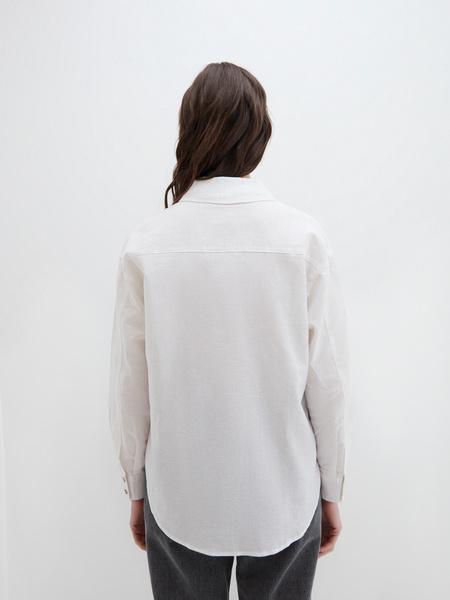 Блузка из льна - фото 6