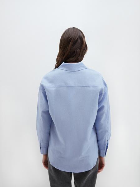 Блузка изо льна - фото 7