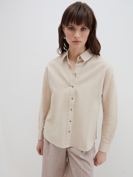 Блузка изо льна - фото 2