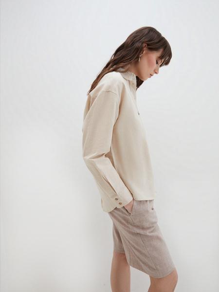Блузка изо льна - фото 4