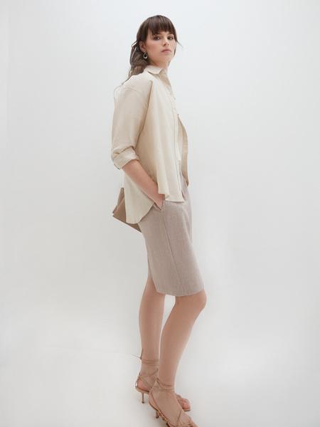 Блузка изо льна - фото 5