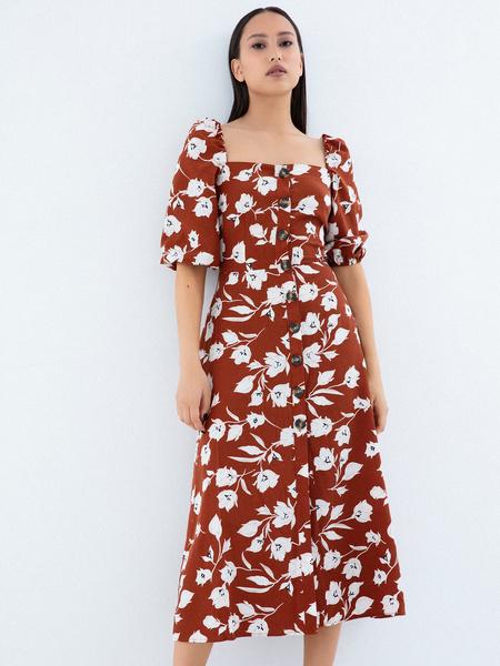 Платье с рукавами 3/4 - фото 1