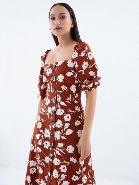 Платье с рукавами 3/4 - фото 2