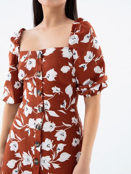 Платье с рукавами 3/4 - фото 3