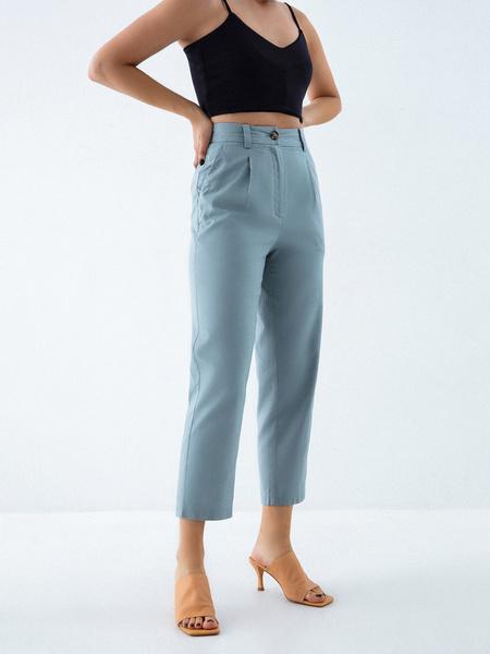 Однотонные брюки - фото 2