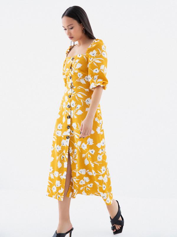 Платье с рукавами 3/4 - фото 6